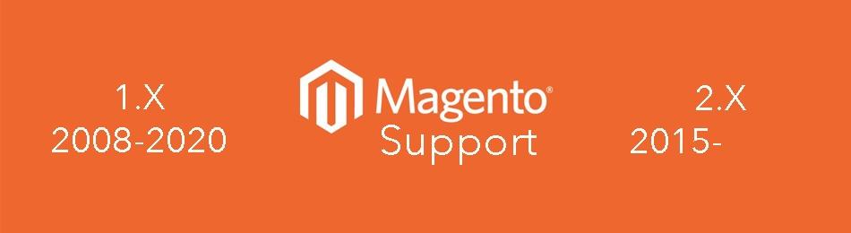 Прекращение поддержки Magento 1.X.