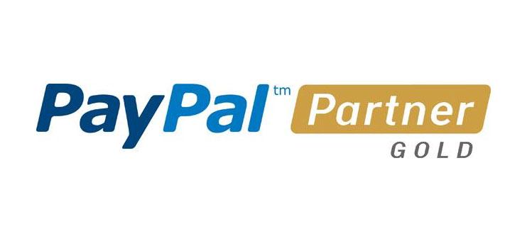 Золотой партнер PayPal