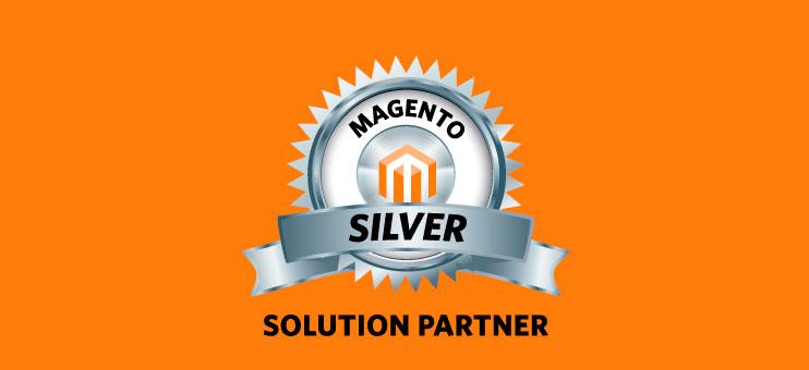 Мы - официальные серебряные партнеры Magento в России