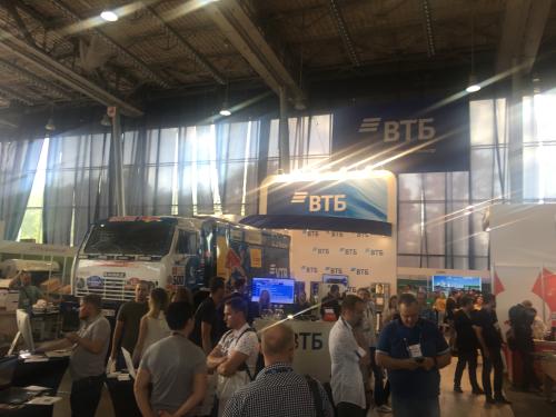 Новости от Magento экспертов: Фото с выставки Ecom EXPO 2018 VTB Камаз-Мастерс